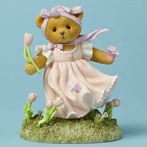 Cherished Teddies Your Smile is as Sweet as Spring Julene Bear Figurine - Figurine Bear Cherished Teddies