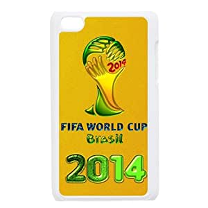 FIFA World Cup Brasil 2014 Personalized Plastic Case for iPod touch 4th generation