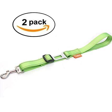 M-CH Coche Cinturones de seguridad 2 UNIDS Ajustable Cinturón de ...