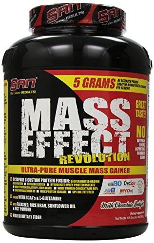 SAN Nutrition Mass Effect Revolution Mass Gainer Powder, ...