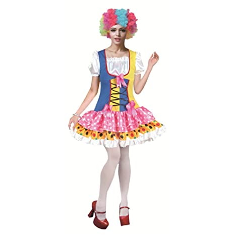 79883b47fb36 Matissa Costumi da Clown pagliacci per Adulti Accessori da Uomo e da Donna  Clown (Clown