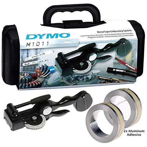 DYMO Tapewriter Metal Tape Embosser (M1011) with 2 Aluminum Adhesive Tape ()