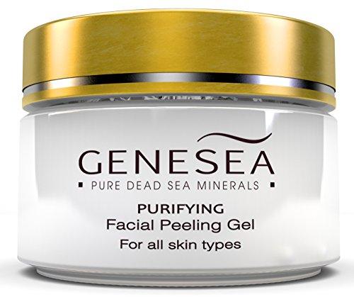 Genesea Facial peel - gel visage exfolier Peeling infusées avec camomille et Aloe Vera, extraits pour la plupart Exfoliation douce - mer Deep Cleansing Sensation purifiante du peau et