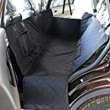 Backseat Dog Seat Cover Dog Car Seat Cover for SUV Trucks Waterproof Quilted