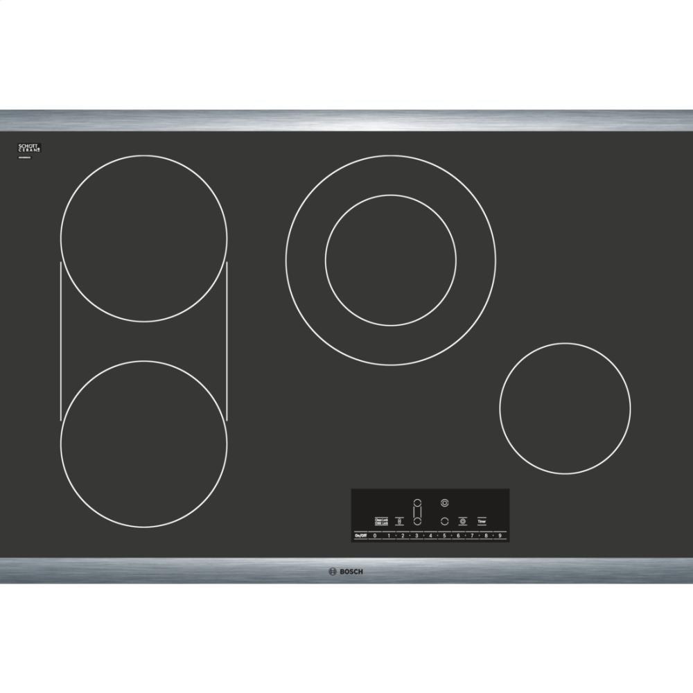 Bosch NET8066SUC 800 30' Black Electric Smoothtop Cooktop
