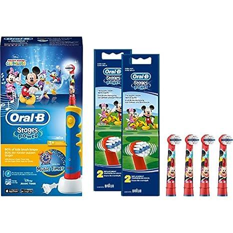 Set ahorro: Braun Oral-B Stages Power Kids eléctrica Cepillo de ...