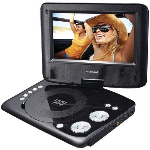 Sylvania Portable DVD Player. 7 Swivel Screen (Sylvania 7 Portable Dvd Player)