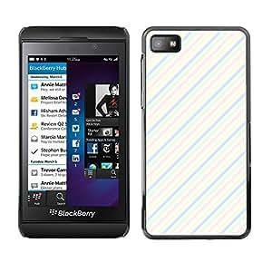 ZECASE Funda Carcasa Tapa Case Cover Para Blackberry Z10 No.0000162
