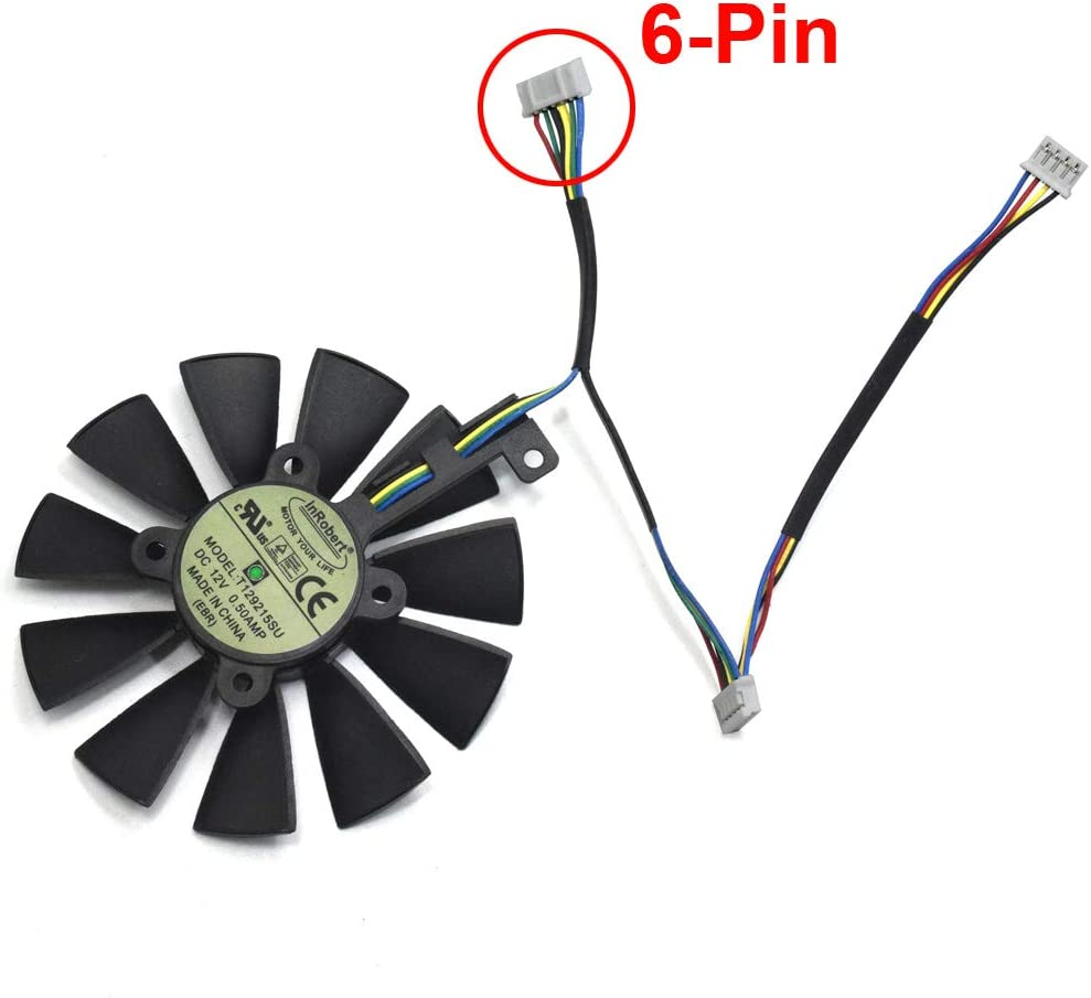 Ventilador de refrigeración para Tarjeta gráfica ASUS Strix ...