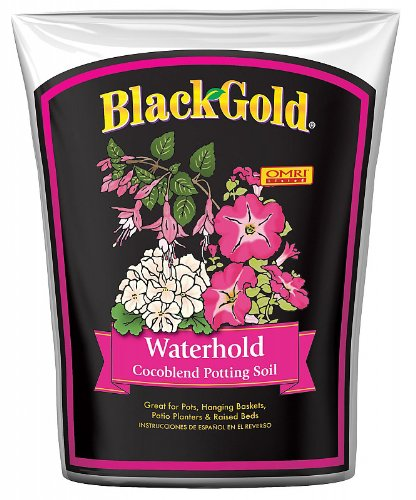 Black Gold SUGRCOCO2 2-Cubic Feet SunGro Waterhold Coco Blend