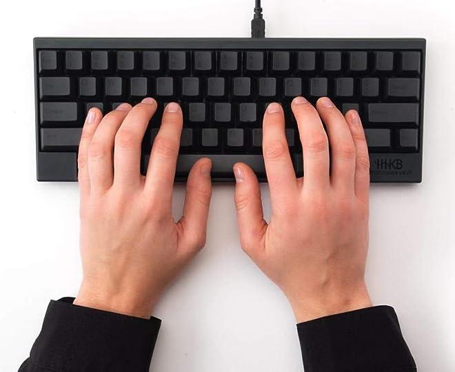PFU Happy Hacking Keyboard Professional2 墨 英語配列 静電容量無接点 USBキーボード Nキーロールオーバー UNIX配列 WINDOWS/MAC両対応 ブラック PD-KB400B