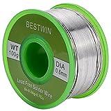Lead Free Solder, BESTWIN 0.6mm Rosin Core Solder Wire (Sn99 Ag0.3 Cu0.7), 0.22lb