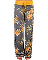 US-straight Women's Floral Print Comfy...