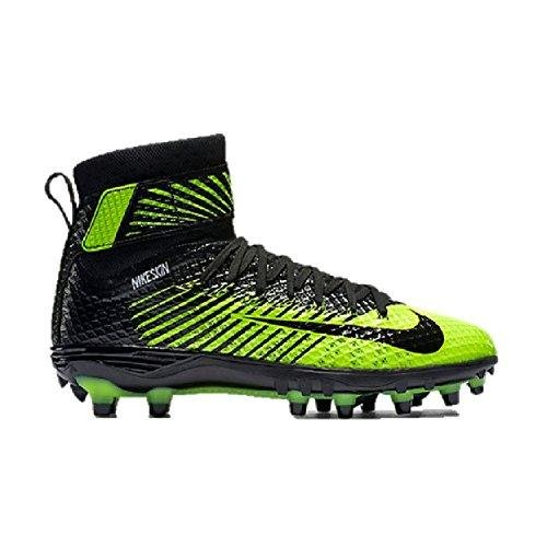 Nike Lunarbeast Elite TD Size 10 Black Volt 779422 007 Football Cleat (Volt Football Cleats compare prices)