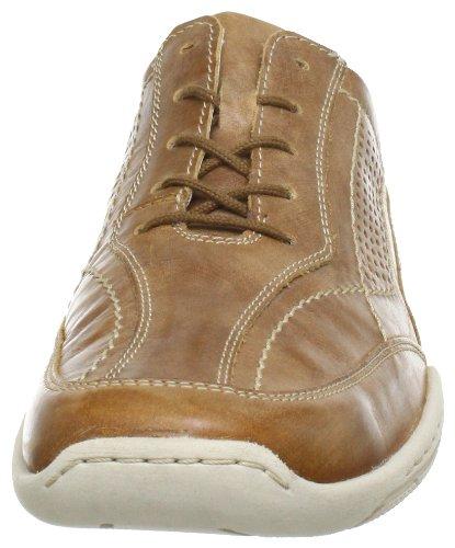 Josef Seibel Schuhfabrik GmbH Pietro 07 24213 820 590 - Zapatos de cordones de cuero para hombre Marrón (Braun (castagne 345))