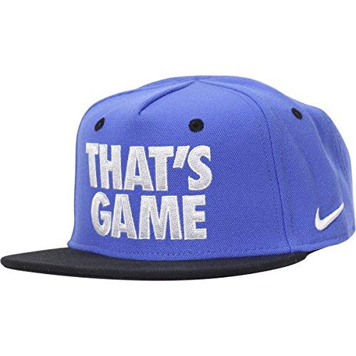 Nike Infants Baseball (Nike Infant Boy's Embroidered Blue Snapback Baseball Cap Hat Sz: 12-24 Months)