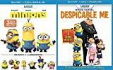 Despicable Me 1 & Minions Blu Ray Movie Collection with mini movies Animated Set