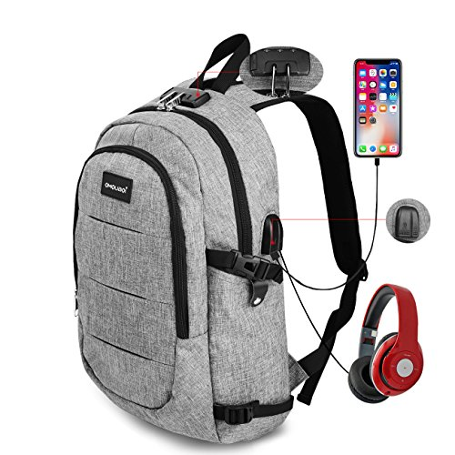 Laptop Backpack OMOUBOI Anti Theft Travel Backpack