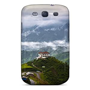 New Cute Funny House In The Mountains Case Cover/ Galaxy S3 Case Cover