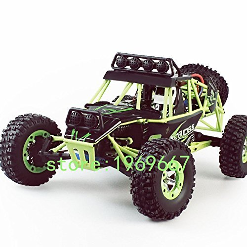 High Speed 4CH 1:12 Scale Model RC Off-road Remote Control Buggies Climbing Car Children Electric SUV Stunt WLToys for Kids