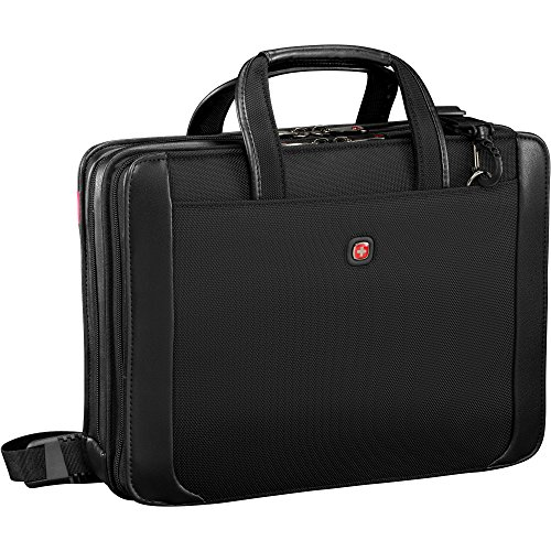 "Wenger Luggage Proxy 14"" Zippered Laptop Presentation Padfolio, Black"
