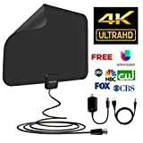 Sobetter Upgraded 60~80 mile HD Receiver for Digital TV (2018 Newest version,supports1080p,full HD,4K )