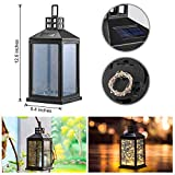 Solar Lantern Lights Outdoor SUNWIND Waterproof