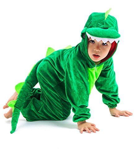 Astage Kids Animal Halloween Cosplay Onepiece Pajamas Outfit Homewear Robes Safari Costume
