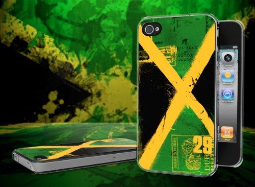 Master Case - Coque iPhone 4/4S Drapeau Grunge - Jamaique