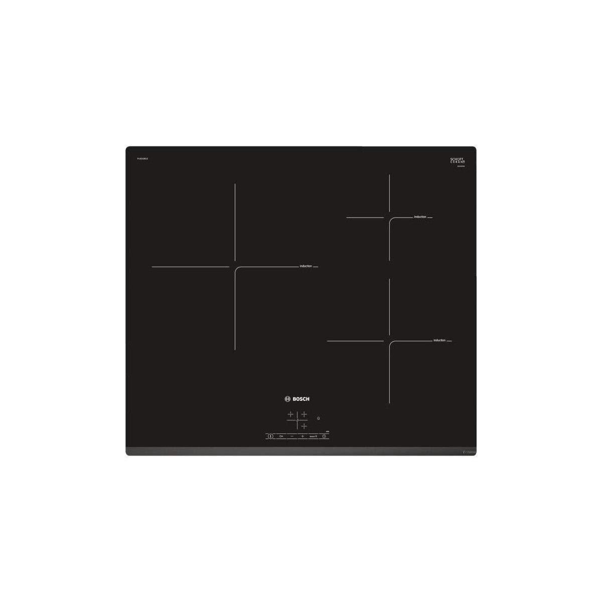 Bosch PIJ631BB1E Plaques de Cuisson Induction Noir
