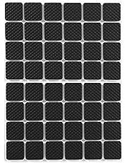 Rubber Voeten Pad, 48 Stks Beschermende Meubelpads Zelfklevende Antislip Vilt Pads Grippers Bank Stoppers voor Harde Vloeroppervlakken (Vierkant)