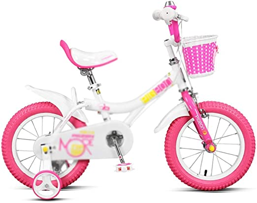 AJZGF Bicicletas niños Bicicleta para niños niña de 12 Pulgadas ...