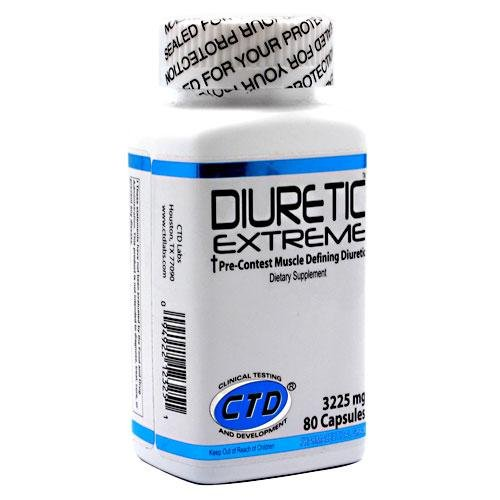 Diurétique CTD Labs Extreme, 3225 mg, 80 capsules
