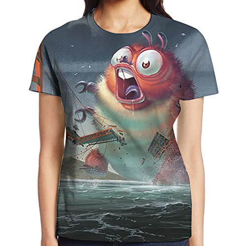 Golden Gate Bridge Women Funny Pullover T-shirt For Running Crewneck Personal Tee Short-Sleeve