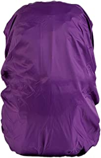 Outdoor Backpack Bag Rain Cover Waterproof Travel Sports Camping Hiking -Purple