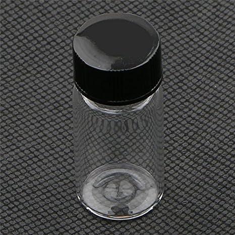 Botellas pequeñas de vidrio con tapa de plástico, para aceites ...