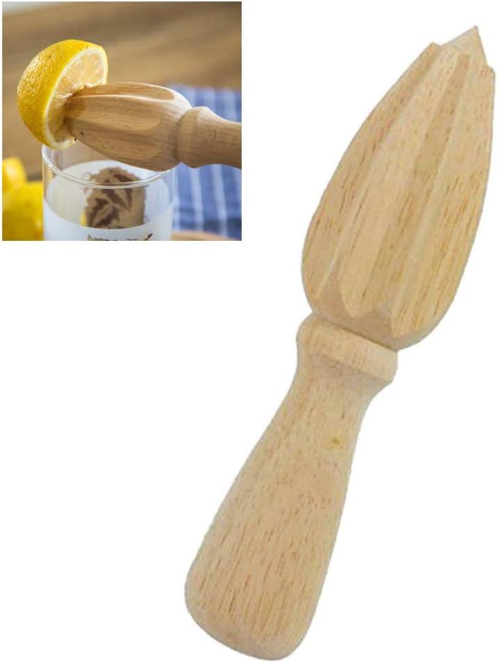 AGAWA Natural Wood Citrus Juicer Mini Manual Juicer for Orange Citrus Lemon,As Shown,164CM