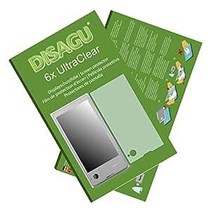 Conjunto de 6 láminas protectoras de pantalla Ultra Claras para YotaPhone la parte trasera