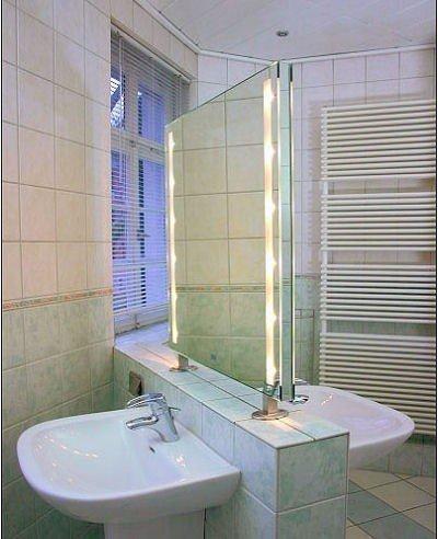 Spiegel Raumteiler Cleo Stare ILLUMINARE 80x80cm