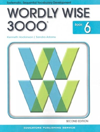 Wordly Wise 3000 Book 6 pdf