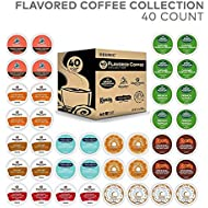 Keurig Flavored Coffee Collection Flavored Lover's, Single Serve Coffee K-Cup Pods for Keurig Brewers, Flavored Variety Pack, 40 Count
