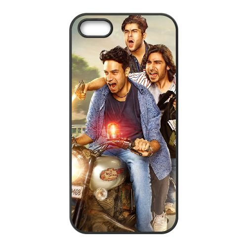 Meeruthiya Gangsters 2015 Wide coque iPhone 5 5S cellulaire cas coque de téléphone cas téléphone cellulaire noir couvercle EOKXLLNCD25909