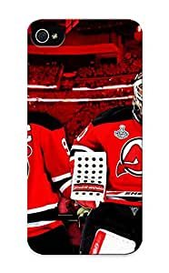 Kathewade Durable New Jersey Devils Hd Images Back Case/ Cover For Iphone 5/5s For Christmas