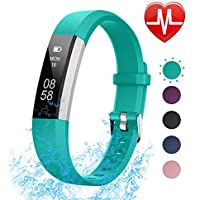 LETSCOM Fitness Tracker with Heart Rate Monitor, Slim...