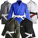 Brazilian Jiu Jitsu Gi BJJ Gi for Men & Women Grappling gi Uniform Kimonos Ultra Light, Preshrunk, Free White Belt!!!