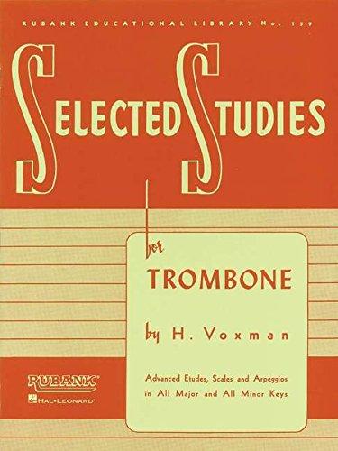 Selected Studies: for Trombone (Rubank Educational -