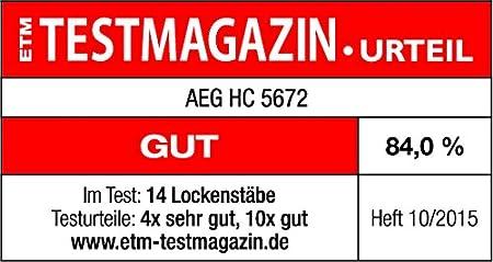 Aeg Rizador de Pelo Hc 5672 Blanco Moldeador - 400 gr: AEG: Amazon.es: Salud y cuidado personal