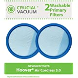 2 Washable & Reusable Filters for Hoover Air Cordless 3.0 BH50140 Vacuums; Compare to Hoover Part No. 440005953; Designed & Engineered by Think Crucial