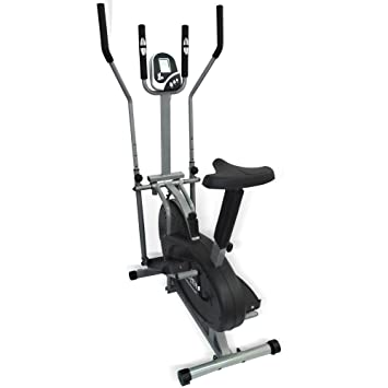 Bicicleta estática ergómetro Cross Trainer Stepper/Cross Trainer bicicleta estática ergómetro Stepper Ellipse Trainer Pulsómetro