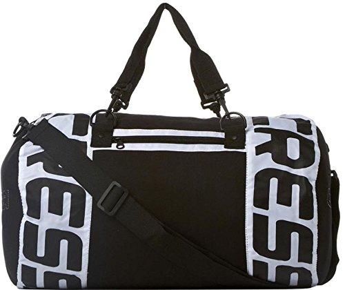 Cressi Logo - Bolsa de deporte, color blanco y negro